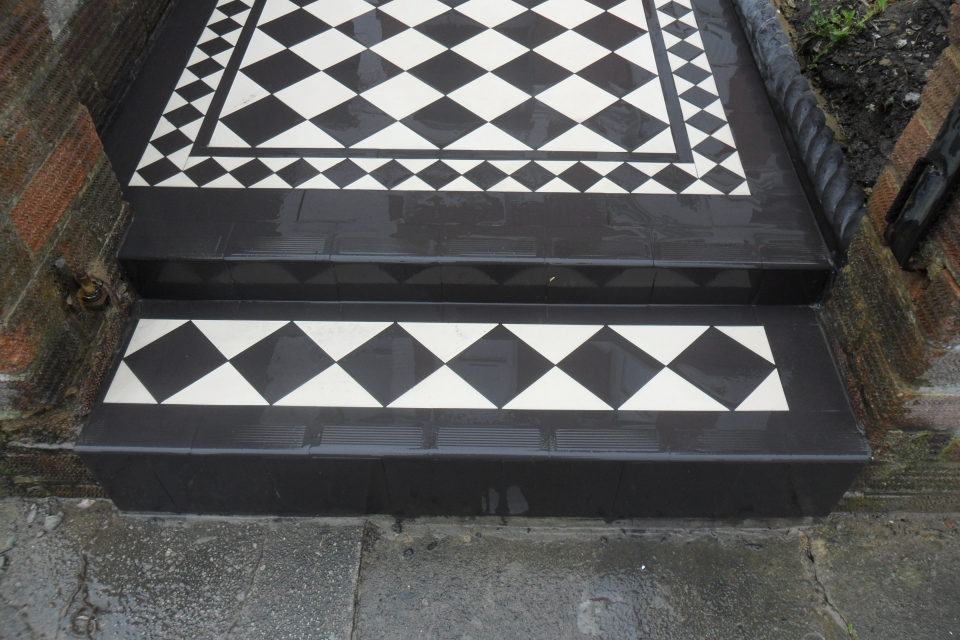 Victorian Pathways Victorian Creations London Tiles