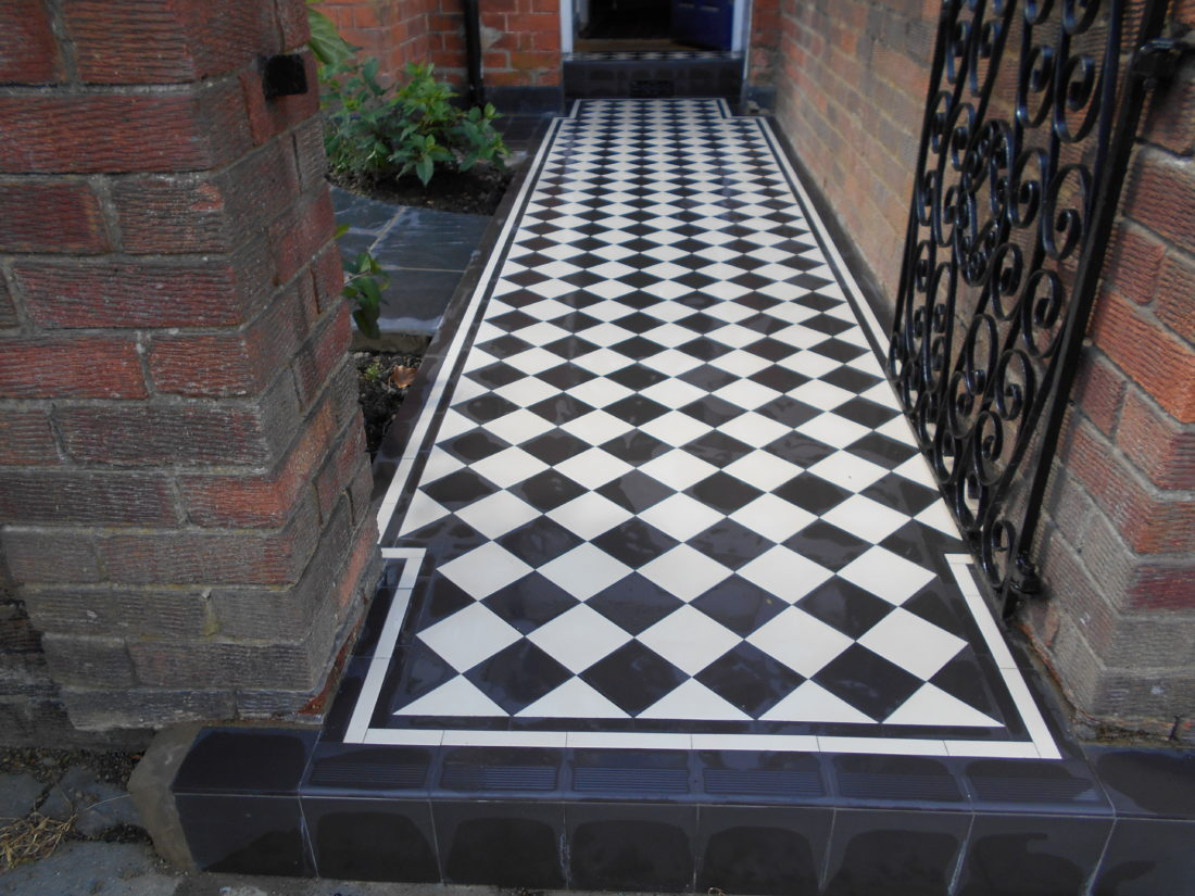 Victorian Tiles Amp Slate Garden Nw2 London Specialist