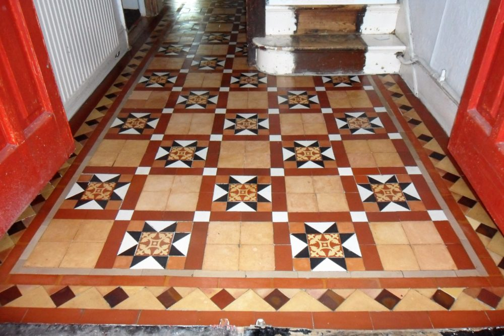 Victorian Floor Tile Restoration North London Highbury Islington